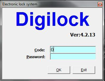 CHAPTER 2: RUNNING THE SOFTWARE I. The Initial Defining in Lock Management System. 1.