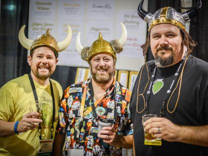 The conference includes judging, seminars and social events that offer homebrewers the chance to mingle,