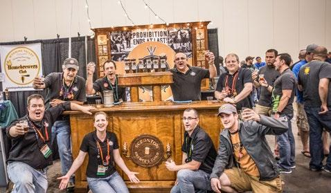 National Homebrewers Conference Sponsorship Opportunities All exhibit space in the Homebrew Expo at the event comes in the form of a sponsorship, and includes all-access badges, an advertisement in