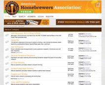 American Homebrewers Association Opportunities Overview Connect with beer enthusiasts who live on the cutting edge of the craft, living and breathing passion for craft beer.
