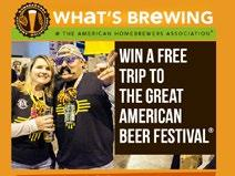 By placing a banner ad on HomebrewersAssociation.org the AHA Forum and What s Brewing @ AHA e-newsletter, plus run top on the AHA for a month. National Homebrewers Conference June 11-13, 2015.