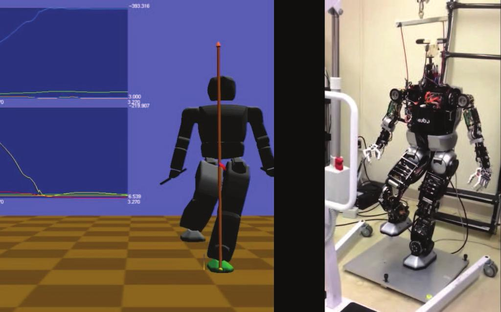 Chapter 35: Free Simulation Software and Library 9 Fig. 6 The humanoid robot Hubo is one of the template models in K lampt [26].