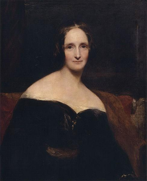 Mary Shelley, a Lady, woah Mary started writing Frankenstein when she was 18 and finished when she was 19!