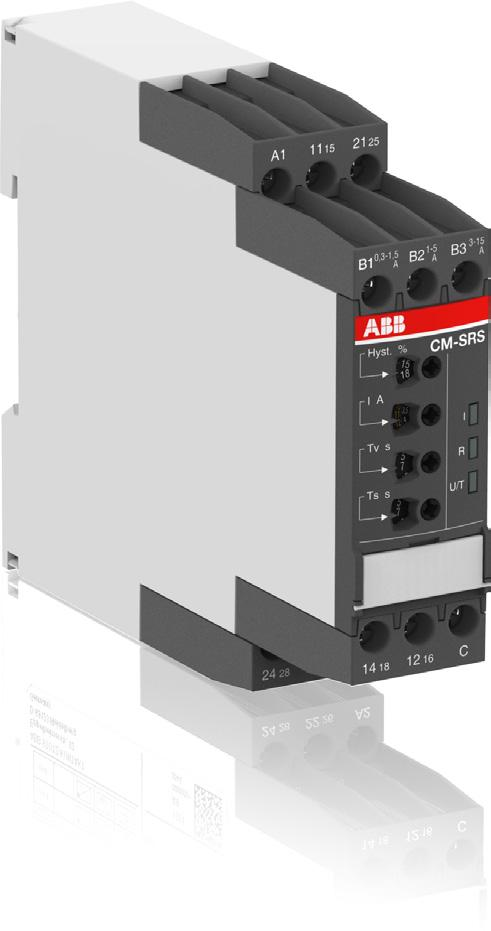 Data sheet Current monitoring relays CM-SRS.M1 For single-phase AC/DC currents The CM-SRS.