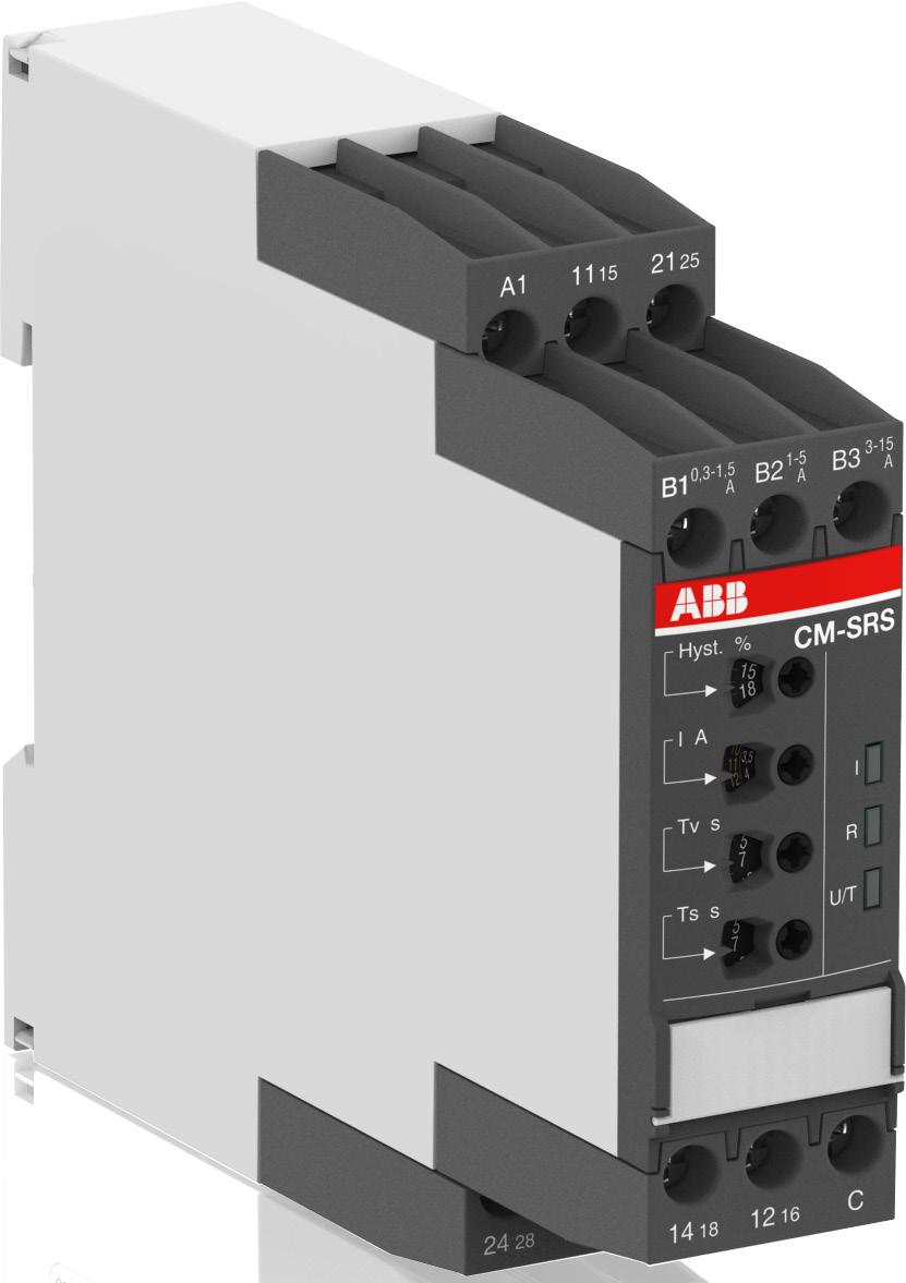 Functions Operating controls 1 Adjustment of the hysteresis (MIN = Default) 2 Adjustment of the threshold value (MIN = Default) 3 Indication of operational states U/T: control supply voltage/timing 1