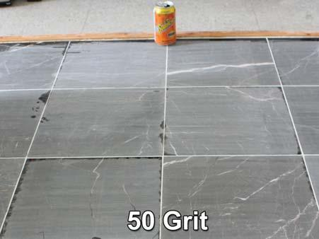 NOTE: The thirty (30) orange grit and fi fty (50) green grit Diamond Strips are very aggressive and should be used only if your surface has moderate to severe damage.
