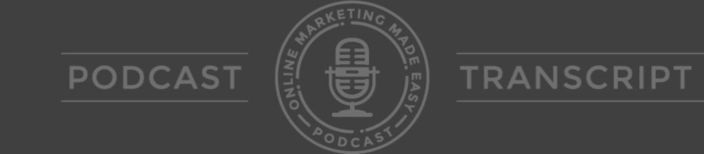 EPISODE 8 How to Grow Your Email List With Facebook SEE THE SHOW NOTES AT: AMY PORTERFIELD: Hey there, welcome to another episode of the Online Marketing Made Easy Podcast!