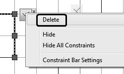 Autodesk AutoCAD 2018: Fundamentals 13. A horizontal constraint is added.