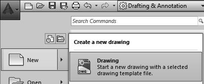 If you want to set a different default template to be used, go to the Options dialog and select the default template you wish to use.