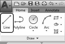Autodesk AutoCAD 2018: Fundamentals Drawing Name: Begin a new drawing Estimated Time to Completion: 10 Minutes Scope Start a New drawing. Enable DYN. With ORTHO on, draw the object below.