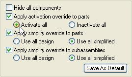 On the right side of the dialog box, ensure that the Apply Activation Override to Parts option is set, and set the Activate All option. Click Open to open the file.