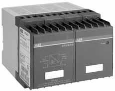 CP trange Ordering details 2CDC 271 009 F0003 Compared with conventional power supplies, CP range power supplies provide many advantages: DIN rail mountable compact modules Low
