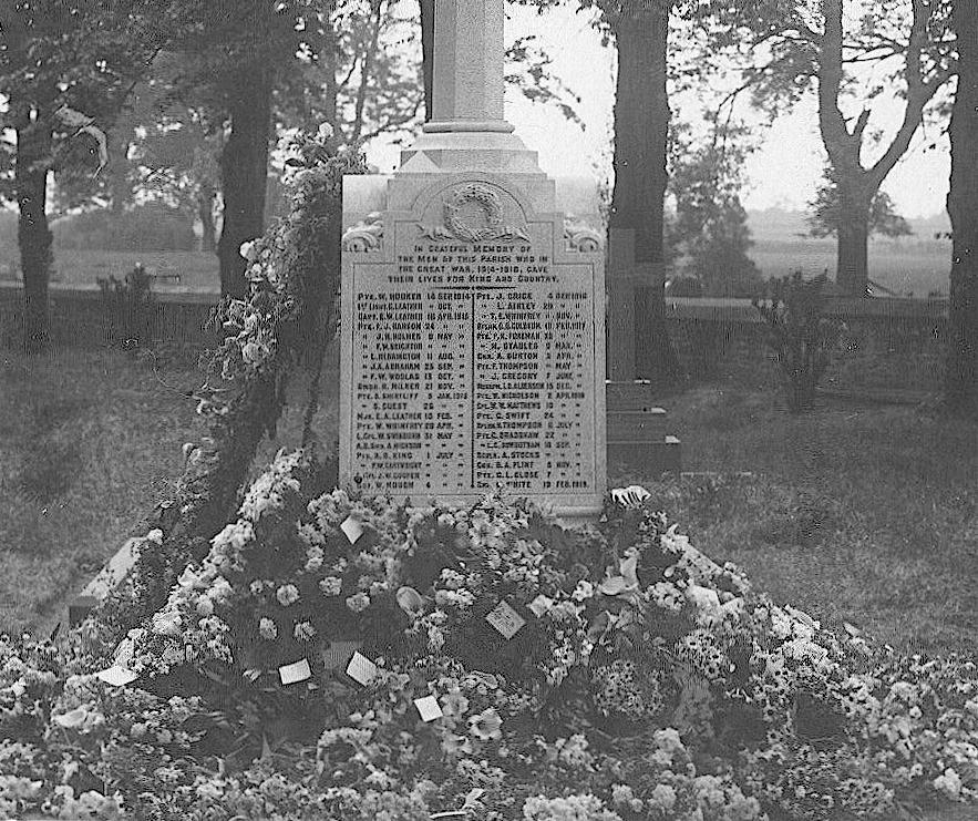 The memorial lists the names of 58 Tickhill men, who served in either the first world or the second world war, however one of the men named on the memorial died whilst serving in the Korean war.