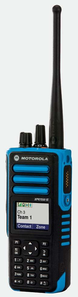 in groups of up to 6 and Motorola Solutions unique IMPRES