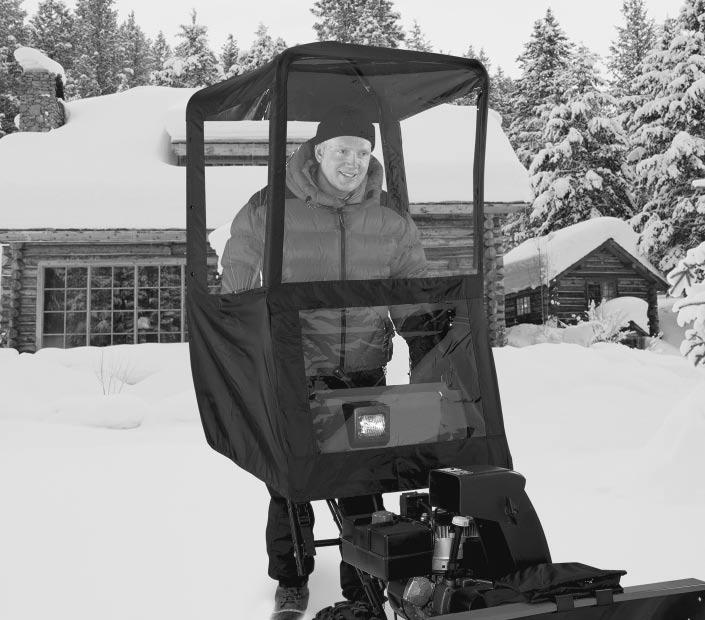 C L A S S I C Deluxe Snow Thrower