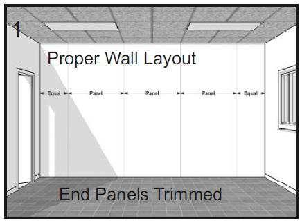 Condition Panels FRP Panels should be allowed to acclimate to the room environment prior to installation.