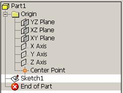 Setup of screen Origin point, axis, and