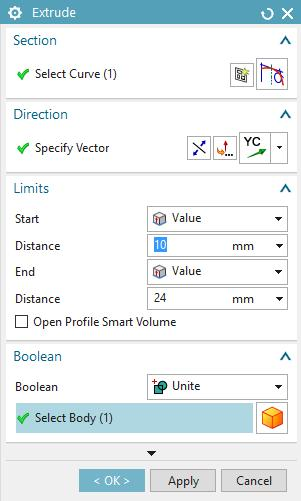 In the box dialog just opened select Unite in the Boolean field and select the object you