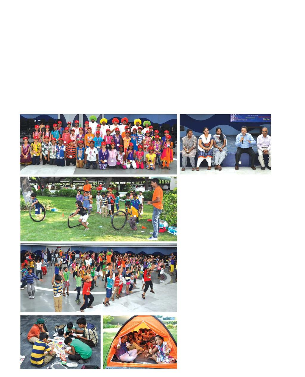 Children s Summer Camp 2014 Summer holidays are a welcome break for children to let their hair down. For parents, it s an arduous task to keep the children occupied during such long holidays.
