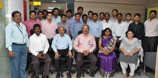 , Raju NVC, Aditya Sharma Advanced Training Programme on Supply Chain Management held at HQ, Chennai during April 7-8; Participants: 28; Faculty (Ext.): M/s.