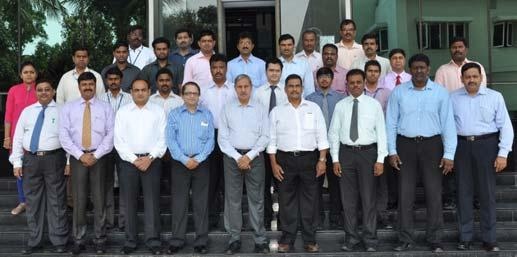 Programme on Testing and Commissioning for Electrical Engineers held at HQ, Chennai during May 12-14, 2014; Participants: 15; Faculty (Int.): Seshadri C.S., Malarizhi, Suneel Bhaskar Indugu, Selvaraj V.