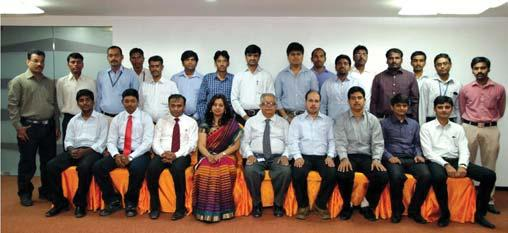Lata Gopti (External) 2-Day In-house programme on Personal Effectiveness & Interpersonal Skills held at Delhi during April 29-30, 2014. Participants: 17. Faculty: Ms.
