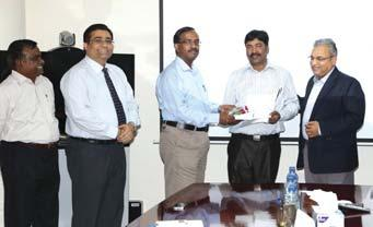 of Mr. S. Rajavel, Executive Vice President & Head, Water & Renewable Energy IC Mr.
