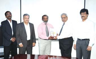 award from Mr. S. Rajavel and Mr. K. Asok Kumar Mr.