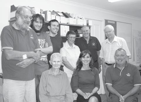 BAWA reports, ctd EXECUTIVE COMMITTEE 2010 At the February AGM the following committee members were elected. Dr Bruce Haynes as Chair of the Executive Committee, a position he has filled since 2008.