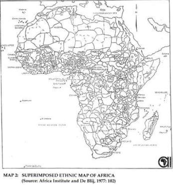 Figure 4. Superimposed ethnic map of Africa [15] Macha Works Macha Works is the name given to a group of collective activities implemented in Macha.