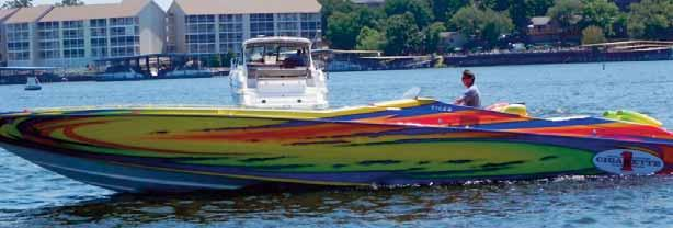 But the Lake of the Ozarks also has one dubious distinction when it comes to boating. It has one of the highest boating accident rates in the region, according to the U.S. Coast Guard.