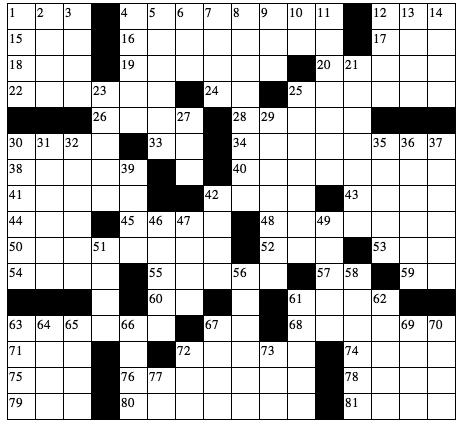 34 stars CROSSWORD 272 STAR TRACK Aries (March 21-April 19) You appreciate tradition and can be quite happy when others do not try to change your surroundings that old chair is perfect where it sits.