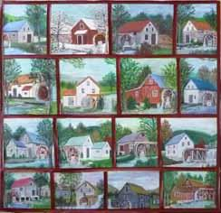 lifestyle F E A T U R E S Virginia artifacts vie for endangered designation At the William King Museum in the heart of Appalachia, a panel of 16 small paintings depicting water mills along the region