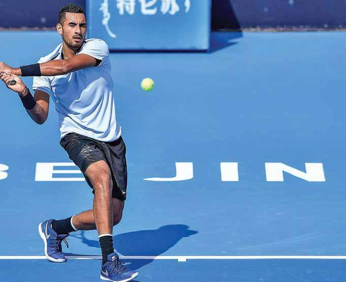 (Reuters) Kyrgios can become global superstar Melbourne Australian maverick Nick Kyrgios is ready to win over his doubters and can become an international sporting superstar according to former world