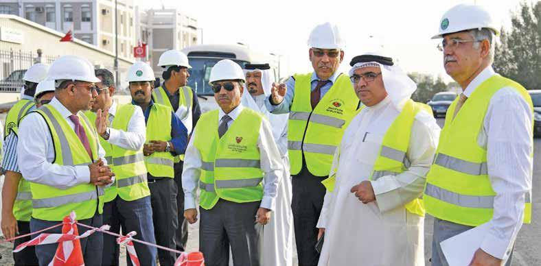 4 Monday, January 15, 2018 Wali Al Ahad highway project 60% completed DT News Network Expansion works of Wali Al Ahad Highway in Riffa has attained 60 per cent completion.