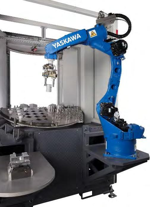 Robot sales will in increase in all other industries Metal industries more flexibility and cost efficiency Rubber and plastics industry more integrated manufacturing concepts Food