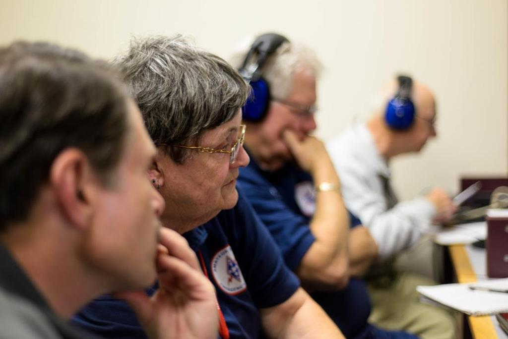 ON DISASTER VOLUNTEERS THE ABILITIES OF VOLUNTEER OPERATORS MUST BE RECOGNIZED AND ACCOUNTED FOR BY THE EMERGENCY MANAGERS THEY SERVE.
