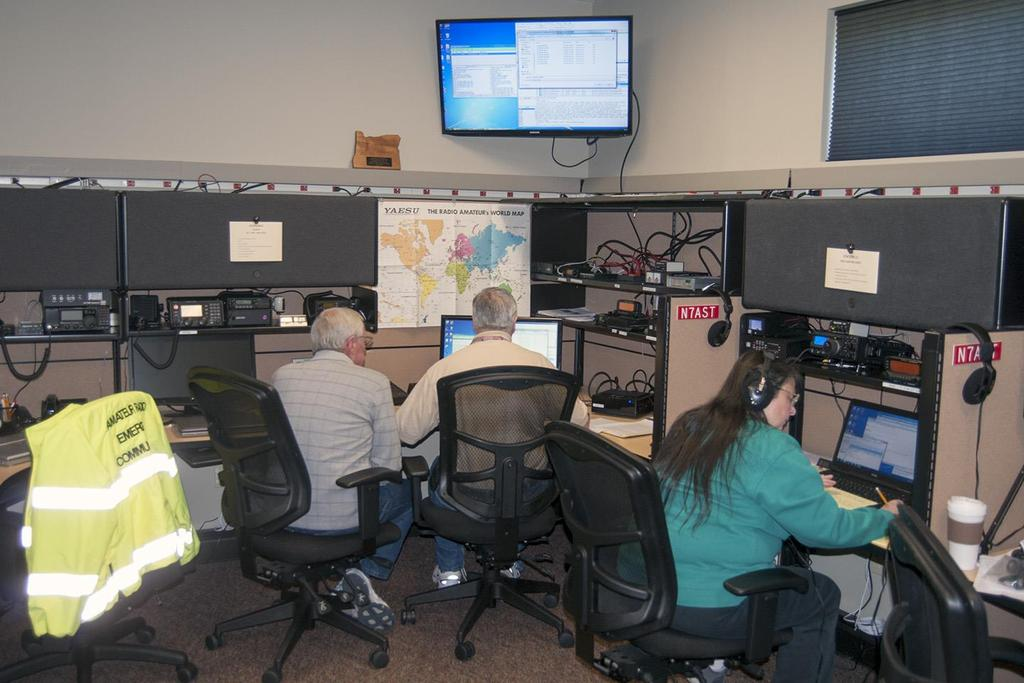 EXISTING CAPABILITIES PAST SIMULATED EMERGENCY TESTS SCHEDULED MONTHS IN ADVANCE FIELD OPERATIONS ON EMERGENCY POWER FOR UP TO 24 HOURS 300 VOLUNTEERS IN 20-25 COUNTIES LOCAL, COUNTY AND STATE LEVEL