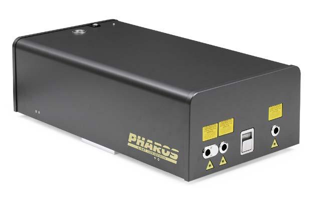 Most of the PHAROS output parameters can be easily set via PC in seconds. Tunability of laser output parameters allows PHAROS system to cover Intensity, a.u. Pulse energy, µj 1.