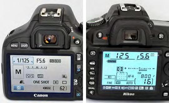 About your camera suggested settings Exposure mode - use Manual For this class we will be using your camera s manual exposure settings.