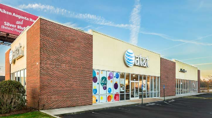 AT&T Strip Center for Sale Value-Add