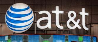 Tenant & Lease Information TENANT PROFILES AT&T Credit rating: A from S&P #10 on Fortune 500 #1 telecommunications company in the US, based on revenue Named Most Admired Telecommunications Company in