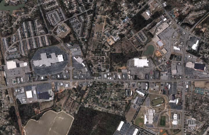 PMS Black High Aerial Black PMS Aiken Mall SITE Multi-Family Development Black (under construction) PMS