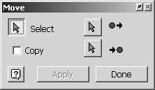 Autodesk Inventor R10 Fundamentals Move The Move tool launches this dialog box. Exercise 6-3: Move and ex6-2.