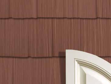 THE BEAUTY OF CUSTOM CRAFTSMANSHIP Classic Style Without the Upkeep. ARCHITECTURAL STAGGERED SHAKES Architectural Staggered Shakes echo the rustic charm of another time.