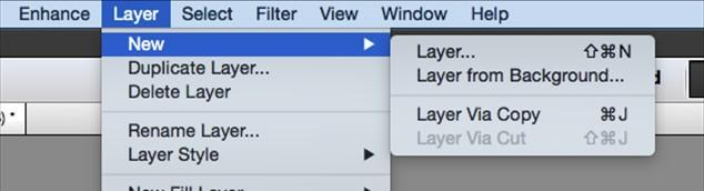 To add a new layer click on the layer tab and click add new layer.