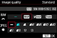 as possible. If your camera supports shooting in raw mode, use it.