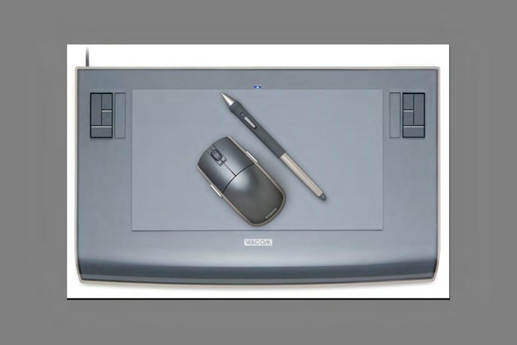 Wacom tablet or similar is