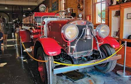 J A N U A R Y E X P L O R E R S E V E N T Founded in 1976, the Toledo Firefighters Museum is located just a few minutes from downtown Toledo in the Old Number 18 Fire House at 918 Sylvania Avenue,