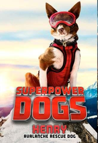 nonfiction, based on the upcoming IMAX film, Superpower Dogs, and perfect for fans of Max! Ages: 8 12 144 pp. Jun.